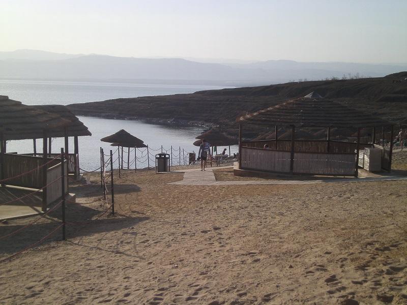 Beach am Toten Meer
