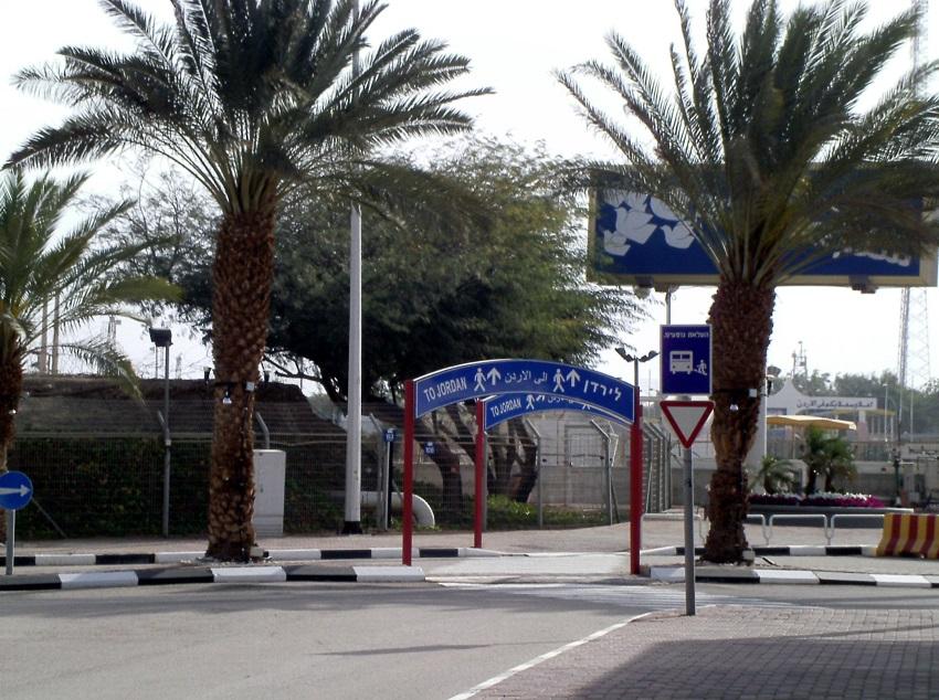 Grenzübergang Wadi Araba bei Eilat