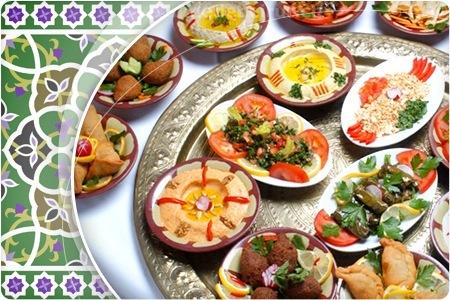 Libanesische Köstlichkeiten