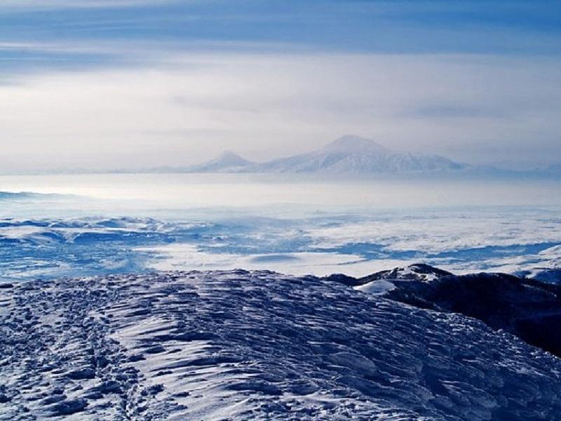 Ararat Ausblick von Tsaghadzor