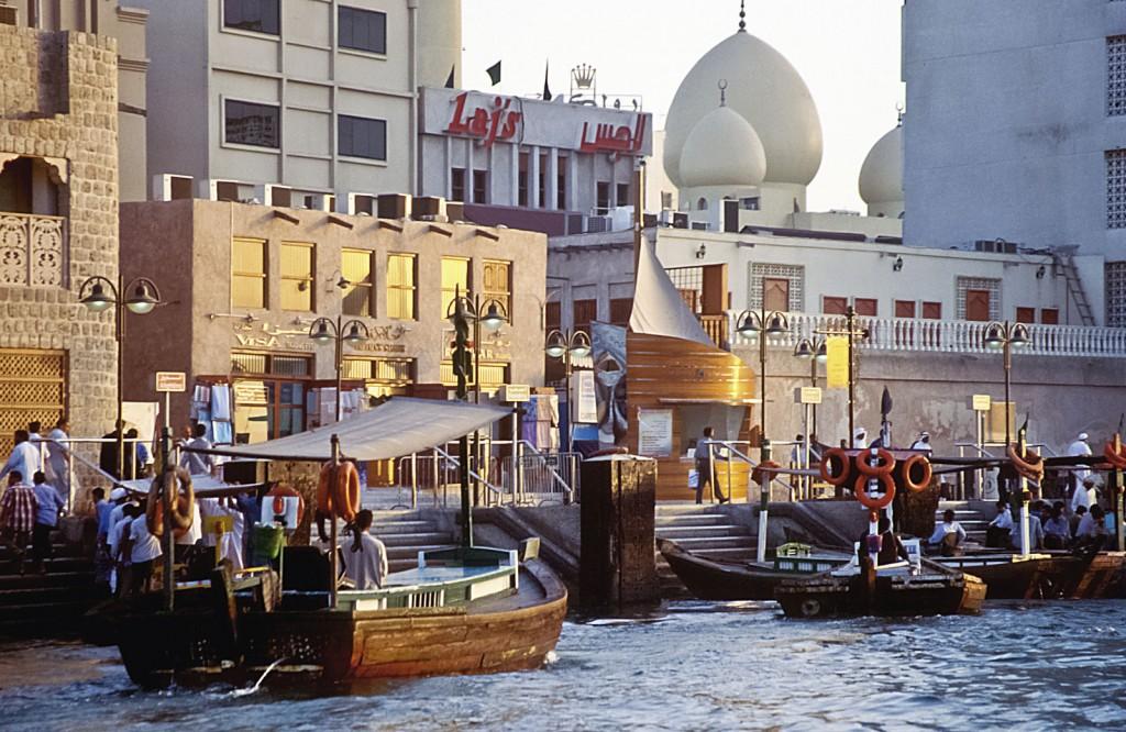 Abras am Dubai Creek © Dubai Tourism