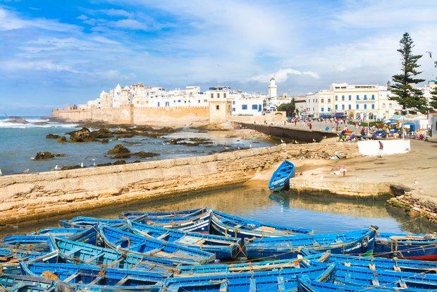 Küste in Essaouira